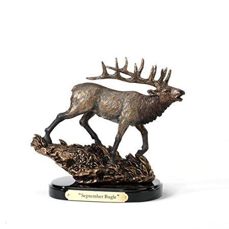 Big Sky Carvers September Bugle Elk Sculpture  Mini