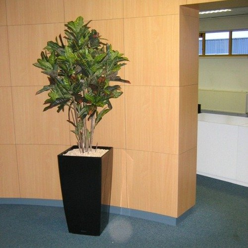 Flora Novara 60'' Artificial Croton Multistem Tree