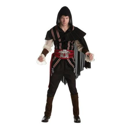 Assassins Creed Ezio Adult Costume, Extra (Ezio Auditore Assassin's Creed 2 Costume)