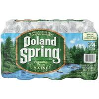 POLAND SPRING 100% Natural Spring Water 24-16.9 fl. oz Bottles
