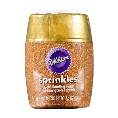 Wilton Small Sanding Sugar, Gold, 2.5oz - Walmart.com