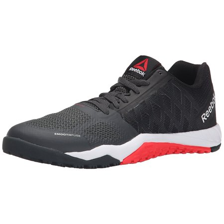 Reebok Women's Ros Workout TR Training Shoes Black/Gravel/Neon Cherry (8.0M