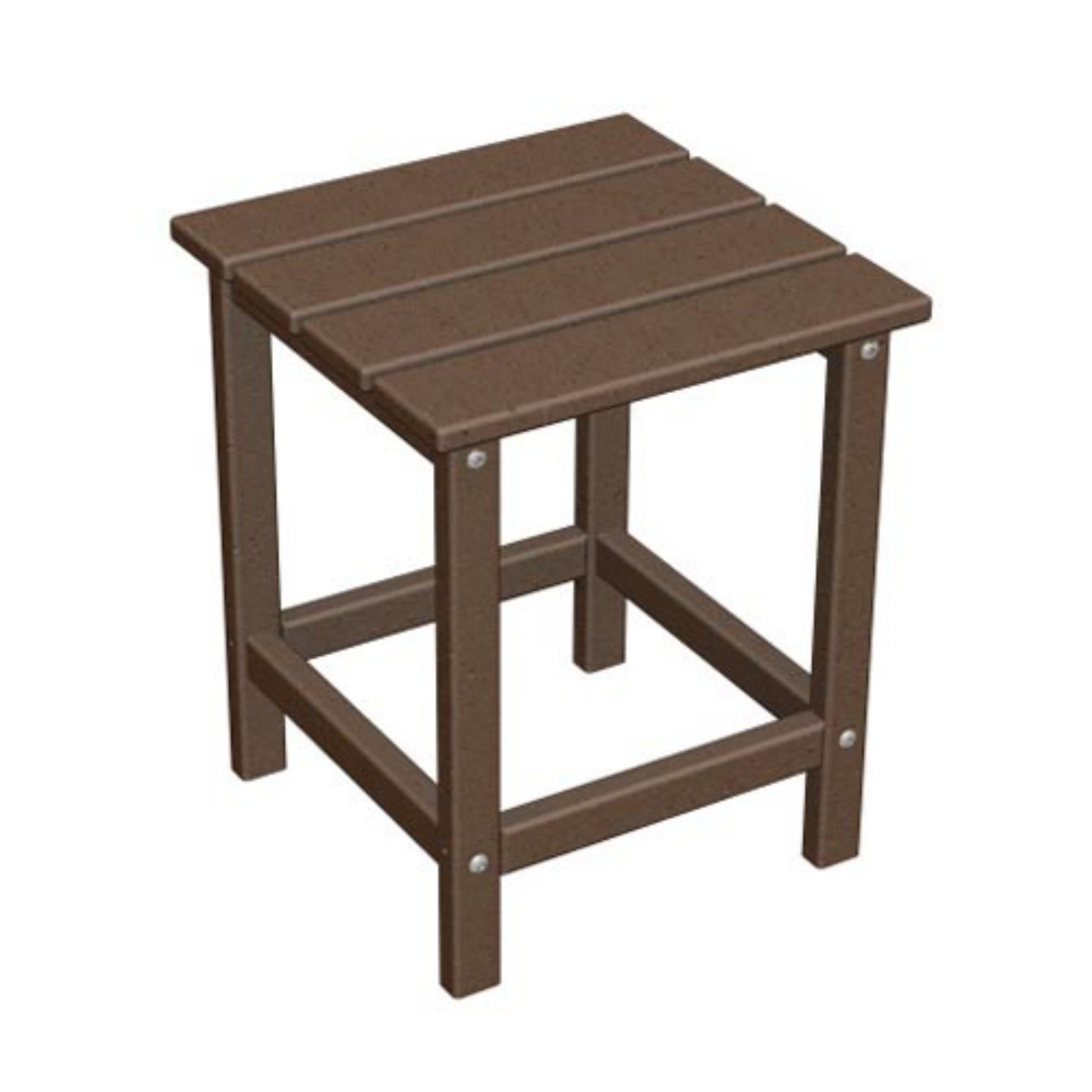 Polywood Reg Long Island Recycled Plastic 18h In Outdoor Side Table