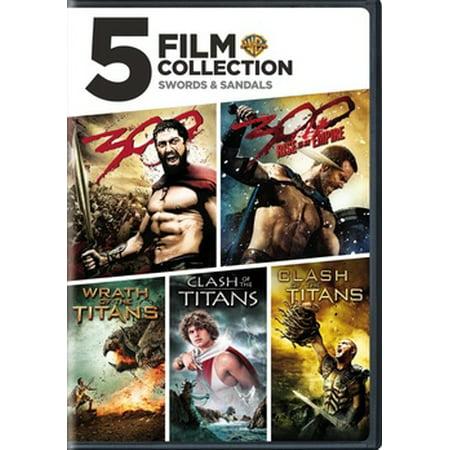 5-Film Collection: Swords & Sandals (DVD)