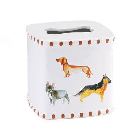 Avanti Linens Dogs On Parade Tissue Holder