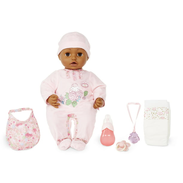 Baby Annabell Brown Eyes Soft-Bodied Baby Doll, Makes ...