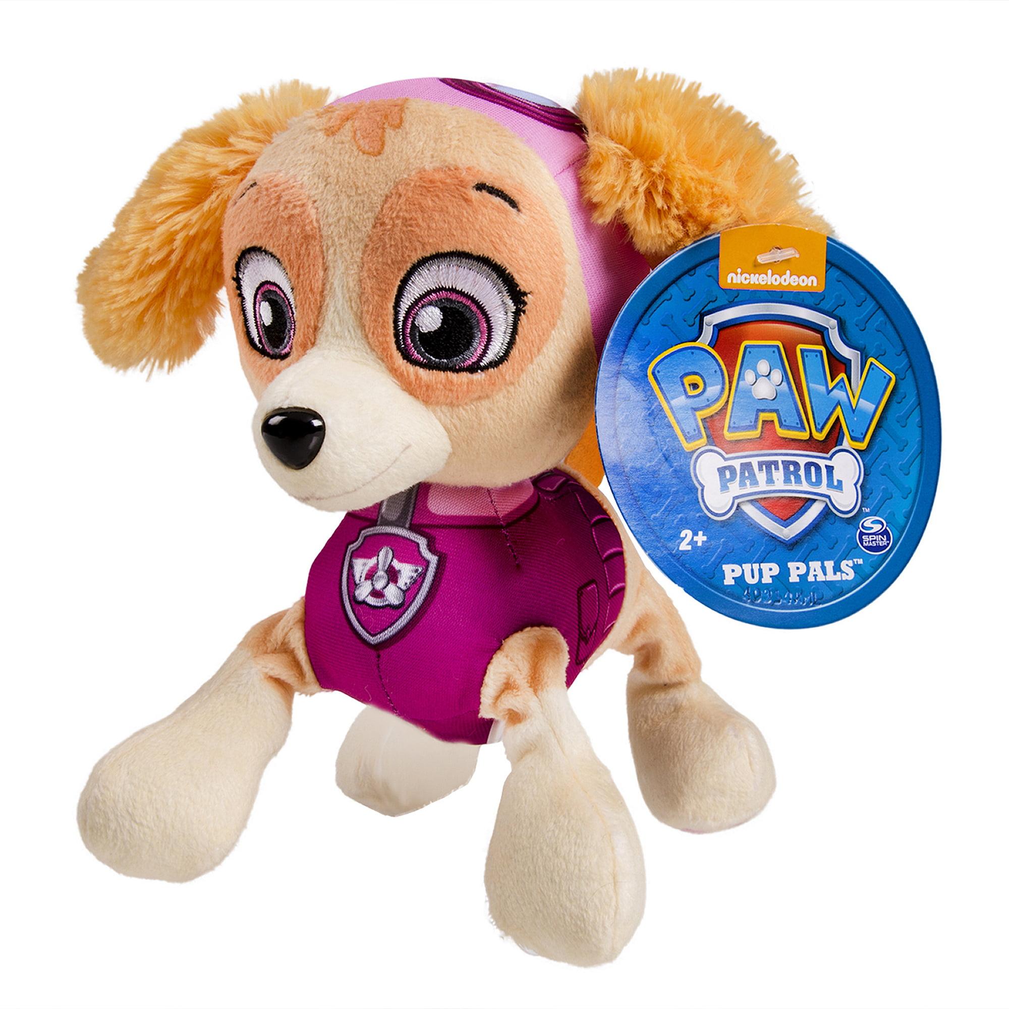 """Nickelodeon Paw Patrol 8"""" Plush Pup Pals Chase Walmart"""