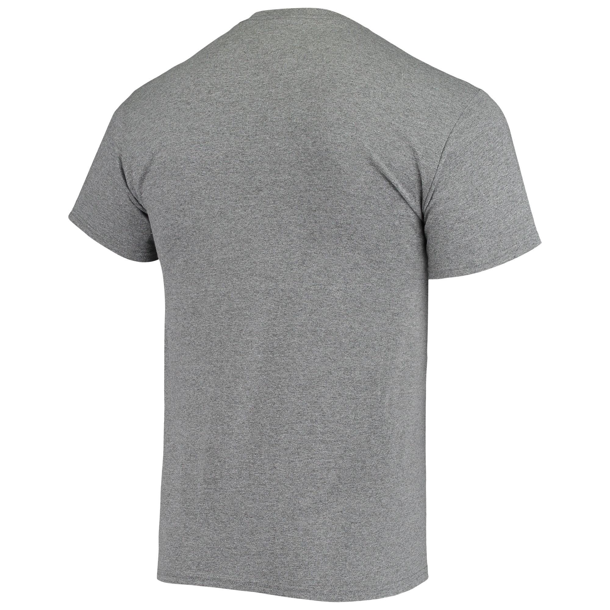 Gray,Medium NCAA Clemson Tigers Male T Shirt Dark Heather Arch