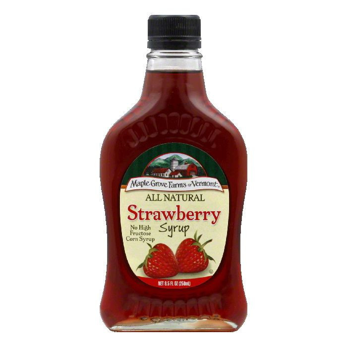 MG STRAWBERRY SYRUP