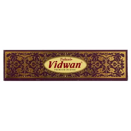 Vidwan Tulasi Guru Masala Incense Mini Sticks - Box with 12 Packs, 15 Grams Per Pack … Mini Incense Sticks