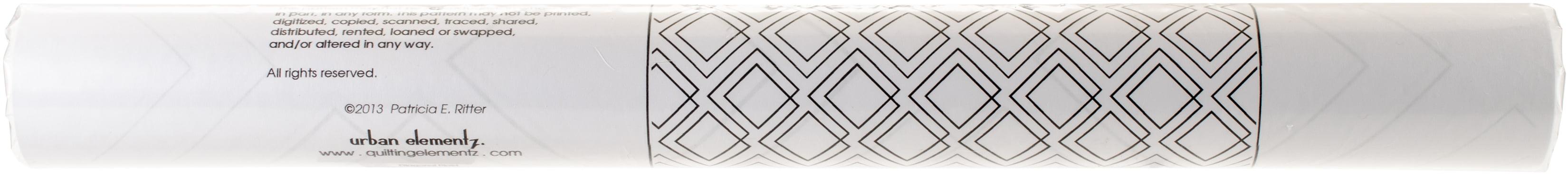 "Sten Source Quilt Stencils By Patricia Ritter-diagonal Plaid 7.25/"""