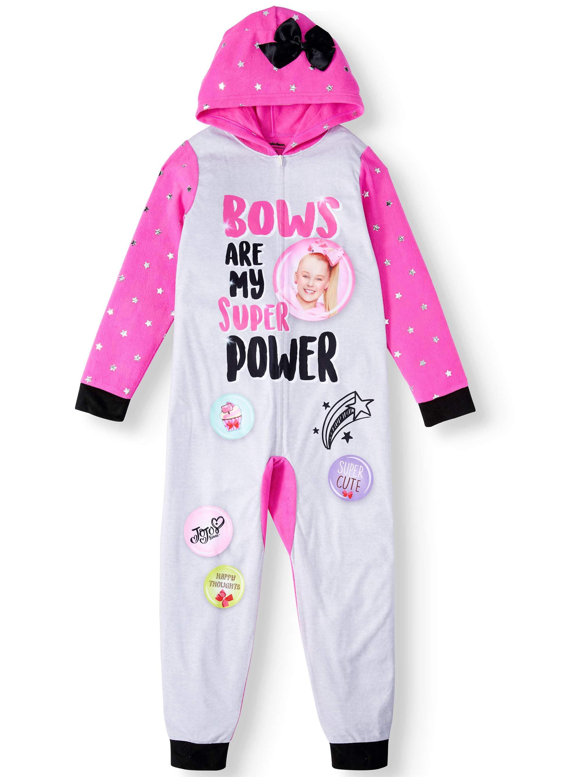 JoJo Siwa Hooded Blanket Sleeper Onesie Pajama (Little Girls & Big Girls)