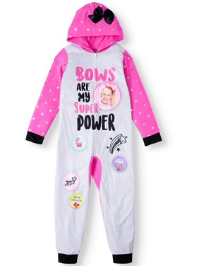 JoJo Siwa Hooded Blanket Sleeper Onesie Pajama (Little Girls & Big Girls)