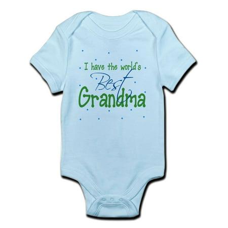 CafePress - I Have The World's Best Grandma Infant Bodysuit - Baby Light
