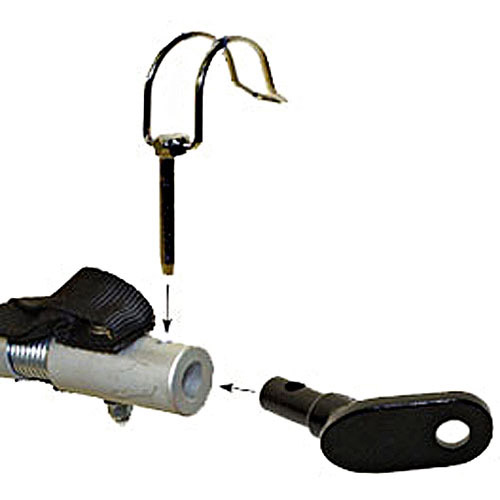 M-Wave Bicycle Trailer Quick-Release Hitch