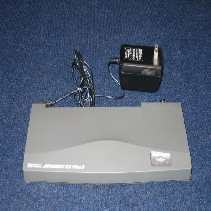 HPE Refurbish Jet Direct 10B-T EX+3 External Jet Direct Card (HPEJ2593A) - Seller Refurb