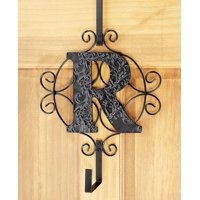 The Lakeside Collection Monogram Wreath Hanger - R