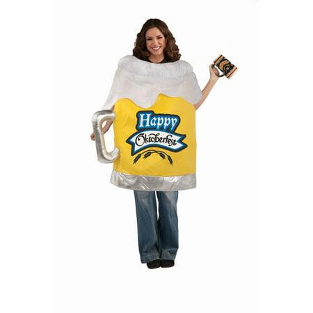 Halloween Beer Mug Adult Costume - Go2 Halloween