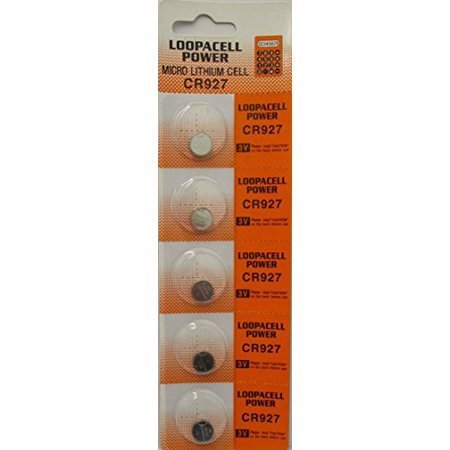 Loopacell Lithium 3V Batteries CR927 5 Pack - Cr927 Batteries