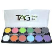 """""""Tag Face Paint Palette Regular 12 Colors"""""""
