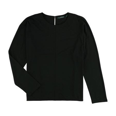 Ralph Lauren Womens Ponte-Knit Basic T-Shirt