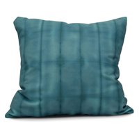 E by Design Stripe Print Outdoor Throw Pillow