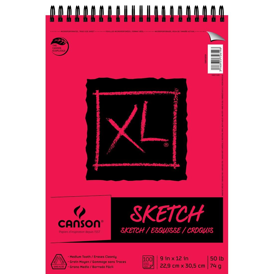 Canson XL Series Sketch Book