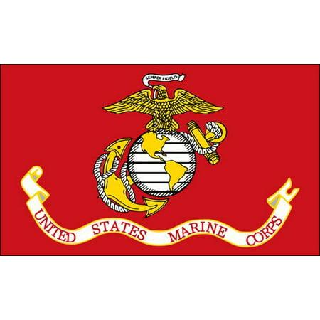 United States Marine Corps Flag Sticker (usmc semper