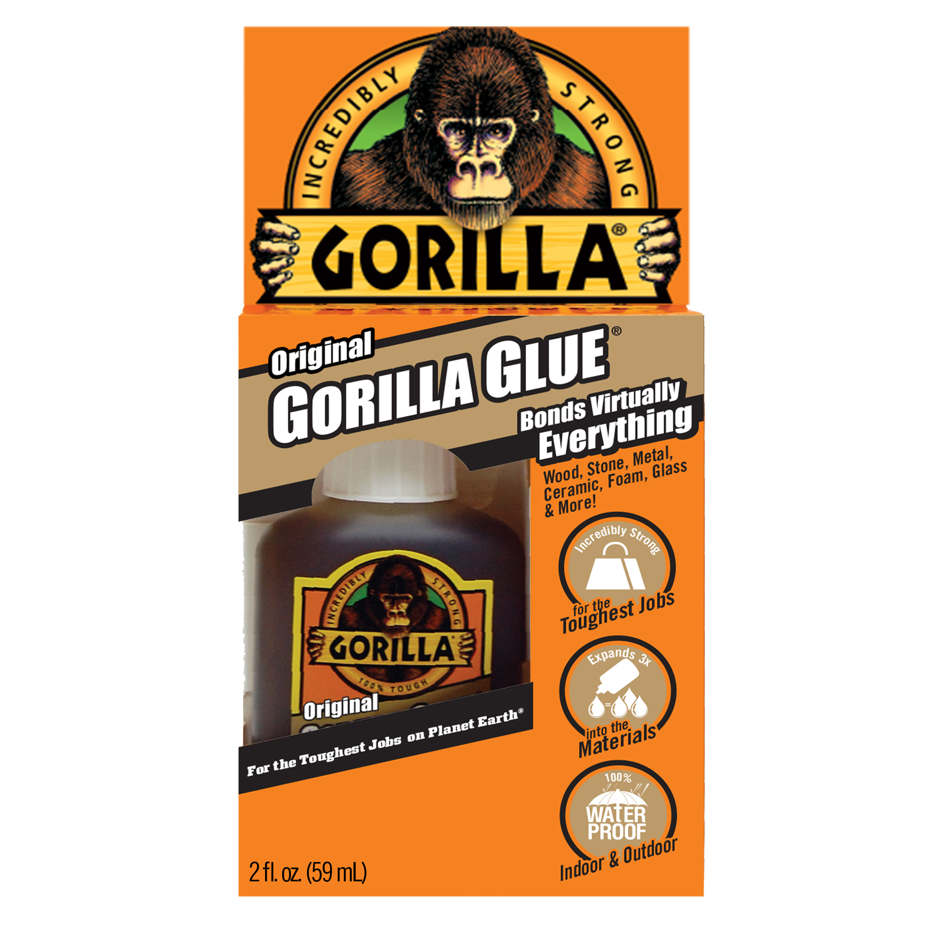 Gorilla Original Glue, 2 oz.