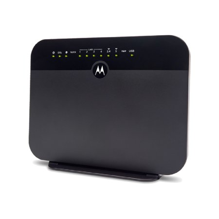 MOTOROLA MD1600 Cable Modem + AC1600 WiFi Gigabit Router + VDSL2/ADSL2 | Compatible with most major DSL providers including CenturyLink and (Best Router For Dsl Connection)