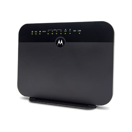 MOTOROLA MD1600 Cable Modem + AC1600 WiFi Gigabit Router + VDSL2/ADSL2 | Compatible with most major DSL providers including CenturyLink and Frontier Compatible Wireless Modem Jack