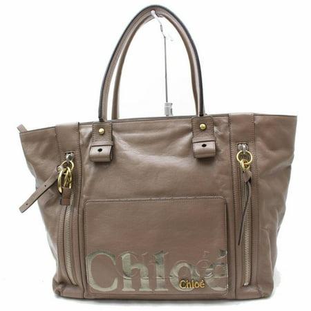 Zip Shopper Bag (Large Zip Shopper Tote 869608 Brown Leather Shoulder Bag)