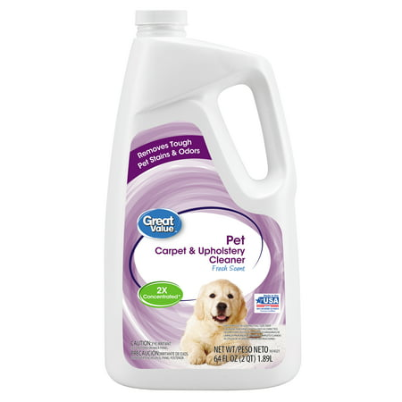 Great Value Pet Carpet & Upholstery Cleaner, 64