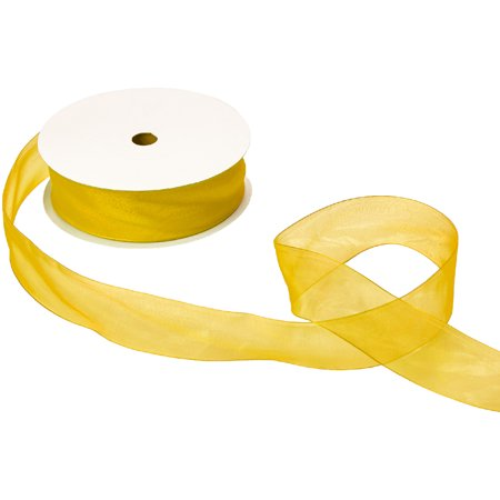 Jillson & Roberts Organdy Sheer Ribbon, 1 1/2