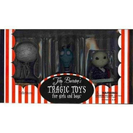 TIM BURTON PVC SET NO. 2 TOXIC BOY for $<!---->