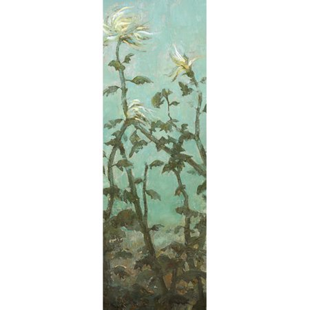 Portfolio Canvas Decor Garden Panel 1 by Elinor Luna Painting Print on Wrapped Canvas