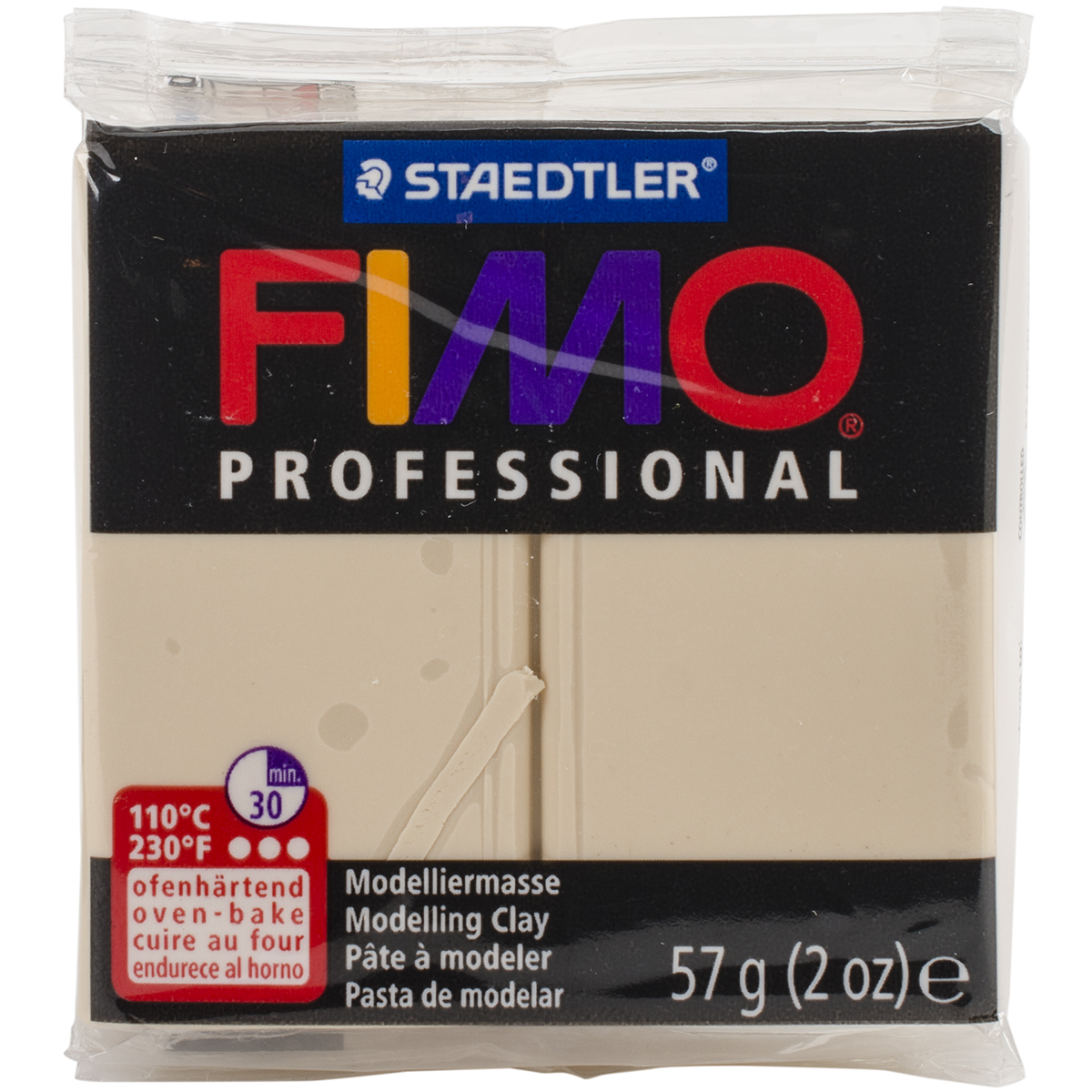 Fimo Professional Soft Polymer Clay 2oz-Champagne