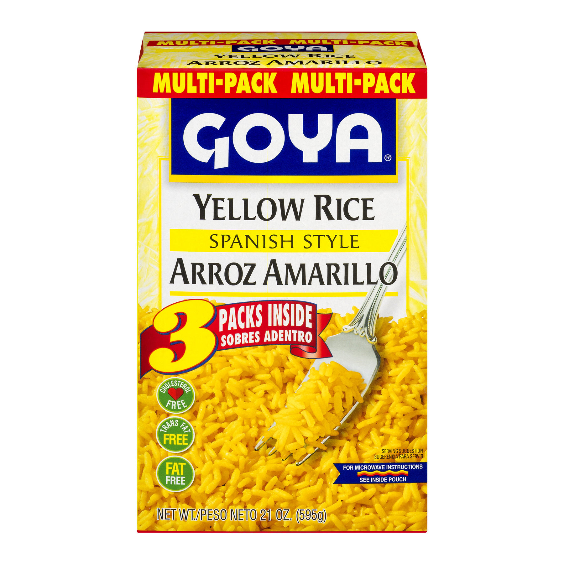 Goya Spanish Style Yellow Rice - 3 PK, 21.0 OZ