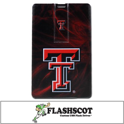 Texas Tech Red Raiders iCard USB Drive - 8GB
