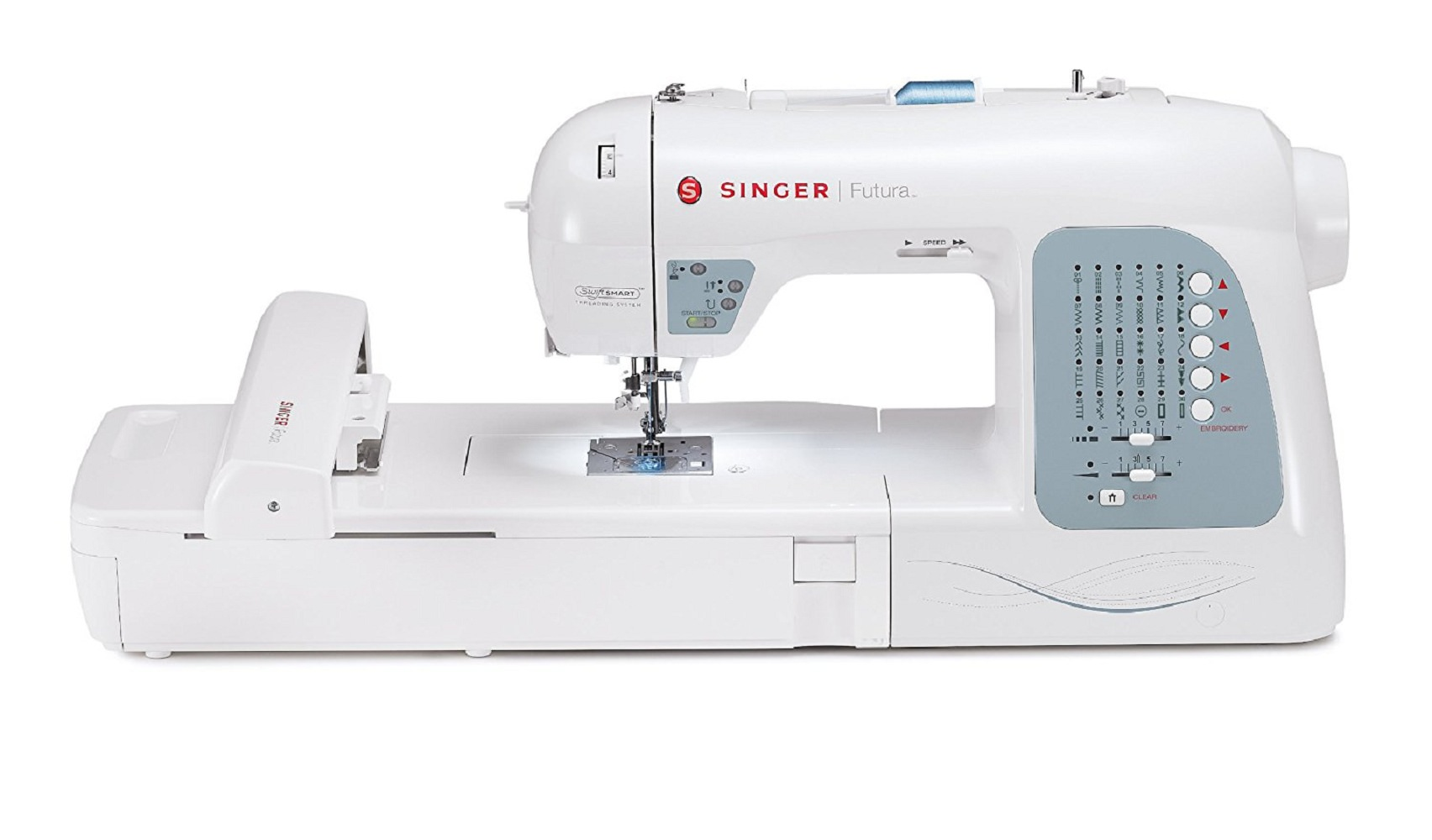 Singer Xl 400 Futura Sewing Embroidery Walmart Com