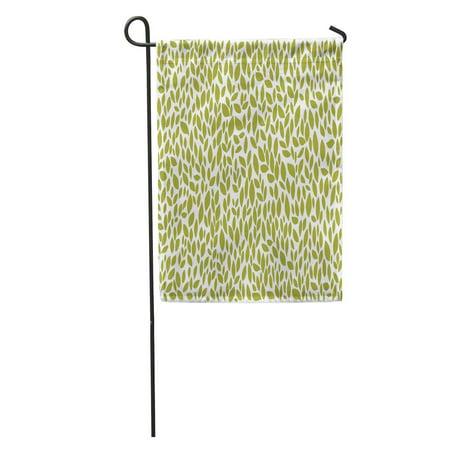 JSDART Leaves Pattern Garden Flag Decorative Flag House Banner 12x18 inch - image 1 de 2