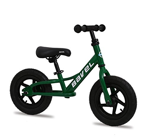 """BAVEL Balance Bike 12-Inch For Ages 18 Months to 4 Years (green, 12"""")"""