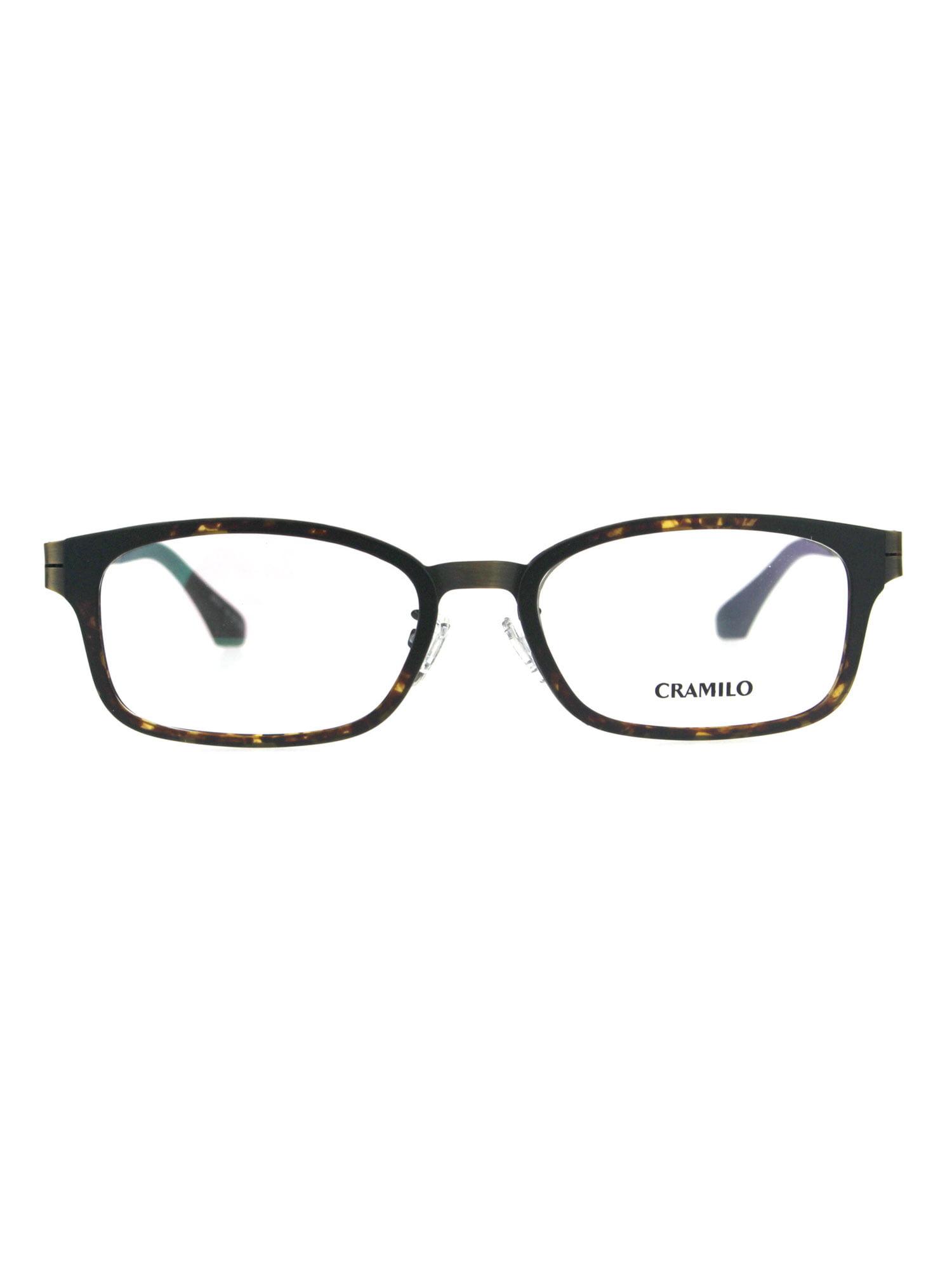 74fb73ed3136 Optical Quality Rectangular Horn Rim Designer Eyeglasses Frame Matte Black  - Walmart.com