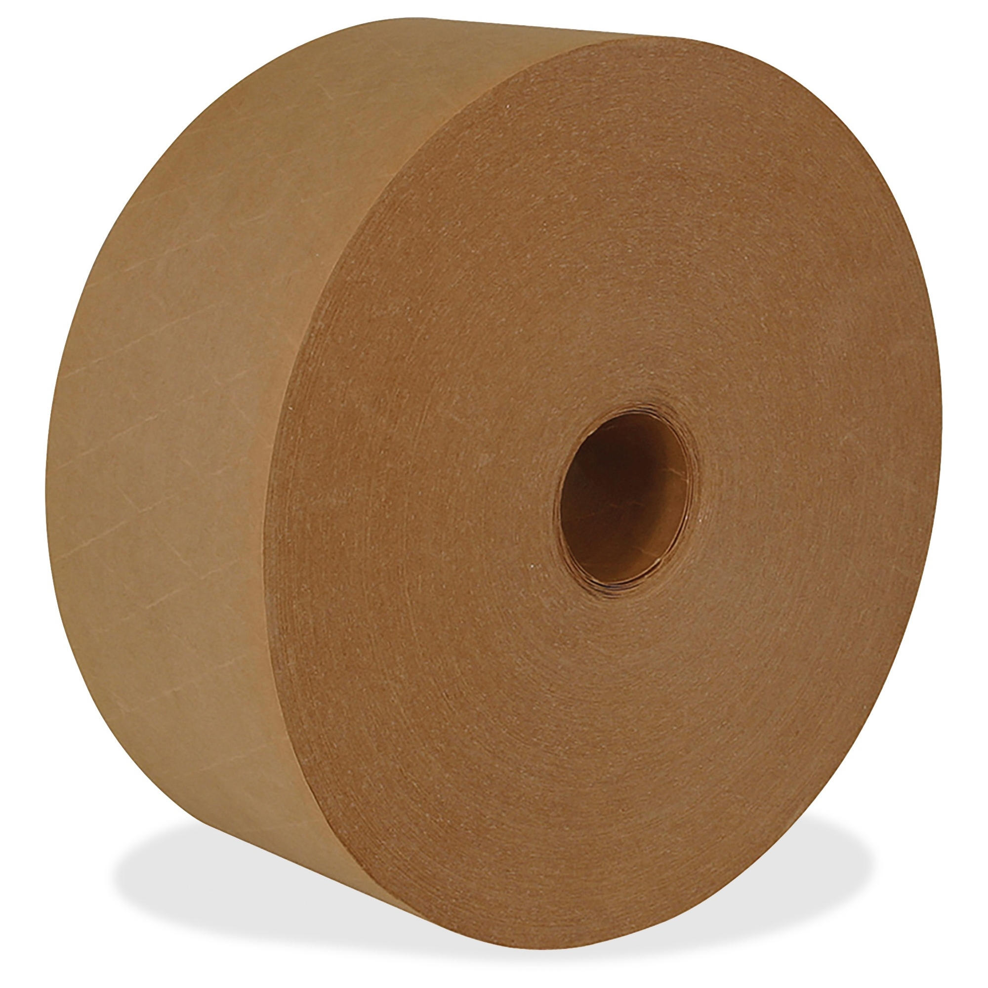 """Ipg Med-duty Water-activated Tape - 2.83"""" Width X 125 Yd Length - Medium Duty, Tamper Evident, Durable - 8 / Carton - Natural (k7004)"""