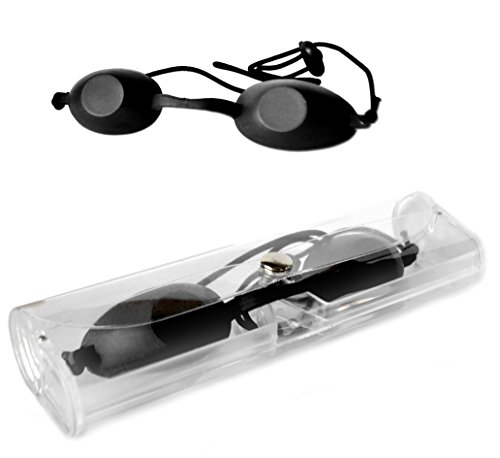 SMYRNA Eyepatch Laser Light Protection Safety Goggles IPL Beauty Clinic Patient Black