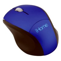 Lifeworks Technology Group 215746 Wireless Travel Mouse, Blue
