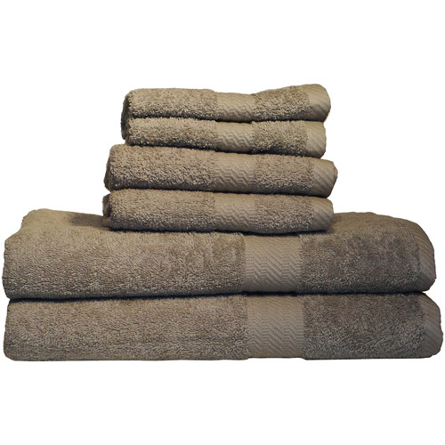 Ultraspun Soft Absorbant 6pc Towel Set