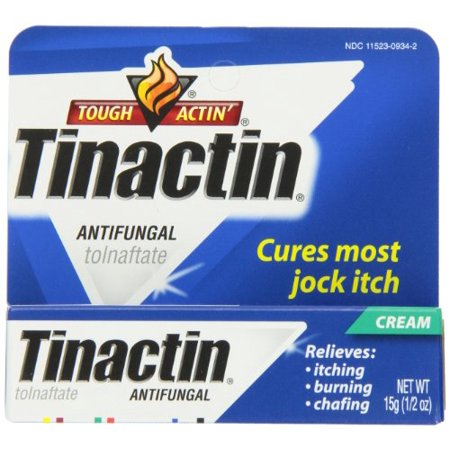 (5 Pack - Tinactin Antifungal Jock Itch Cream, Cures Most Jock Itch .5oz Each)