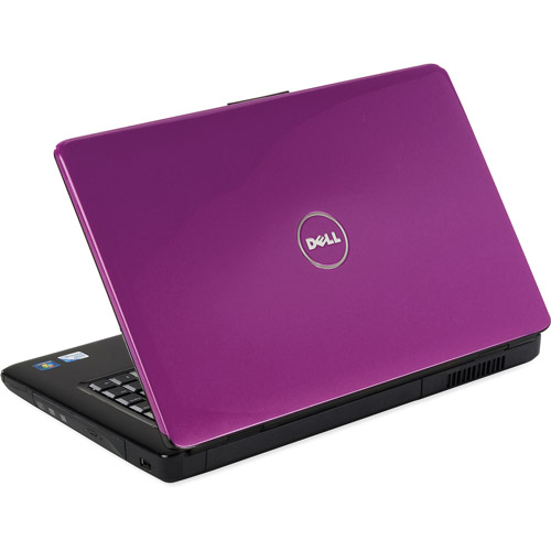 "dell purple 15.6"" inspiron 1545 laptop pc with intel dual"