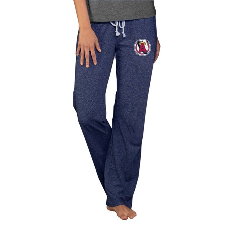 Angel Pant - Los Angeles Angels Concepts Sport Women's Cooperstown Quest Knit Pants - Navy